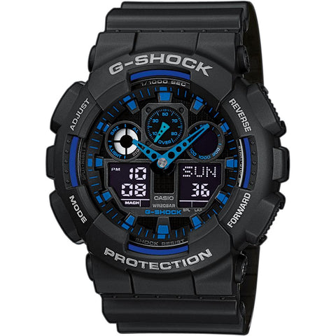 Casio Men's G-Shock Chronograph Watch GA-100-1A2ER