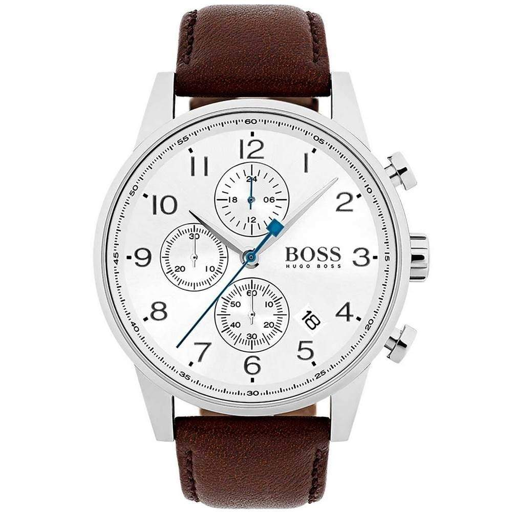 Hugo Boss Men's Navigator Chronograph Watch 1513495 - JB Watches