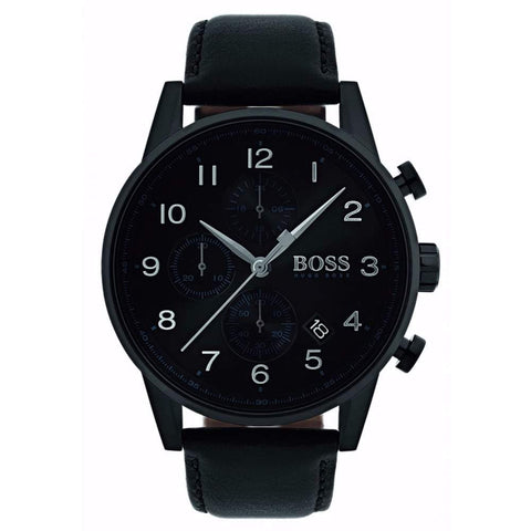Hugo Boss Men's Navigator Chronograph Watch 1513497 - JB Watches