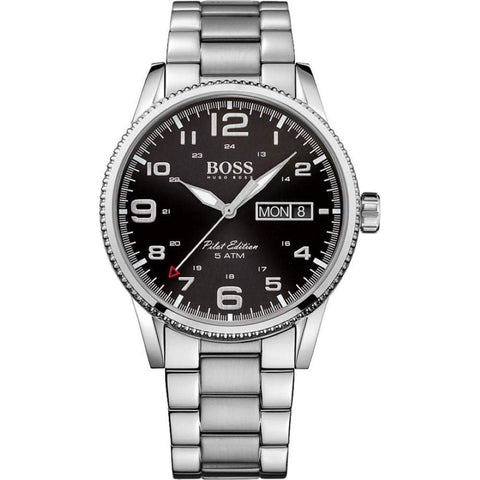 Hugo Boss Men's Pilot Vintage Watch 1513327 - JB Watches