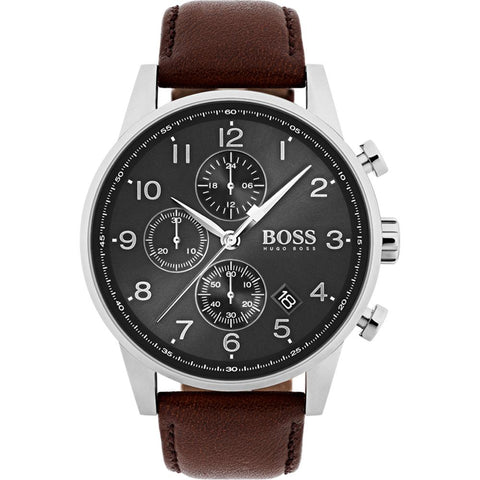 Hugo Boss Men's Navigator Chronograph Watch 1513494 - JB Watches