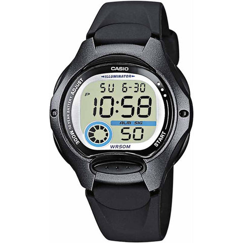Casio Ladies' Digital Watch LW-200-1BV