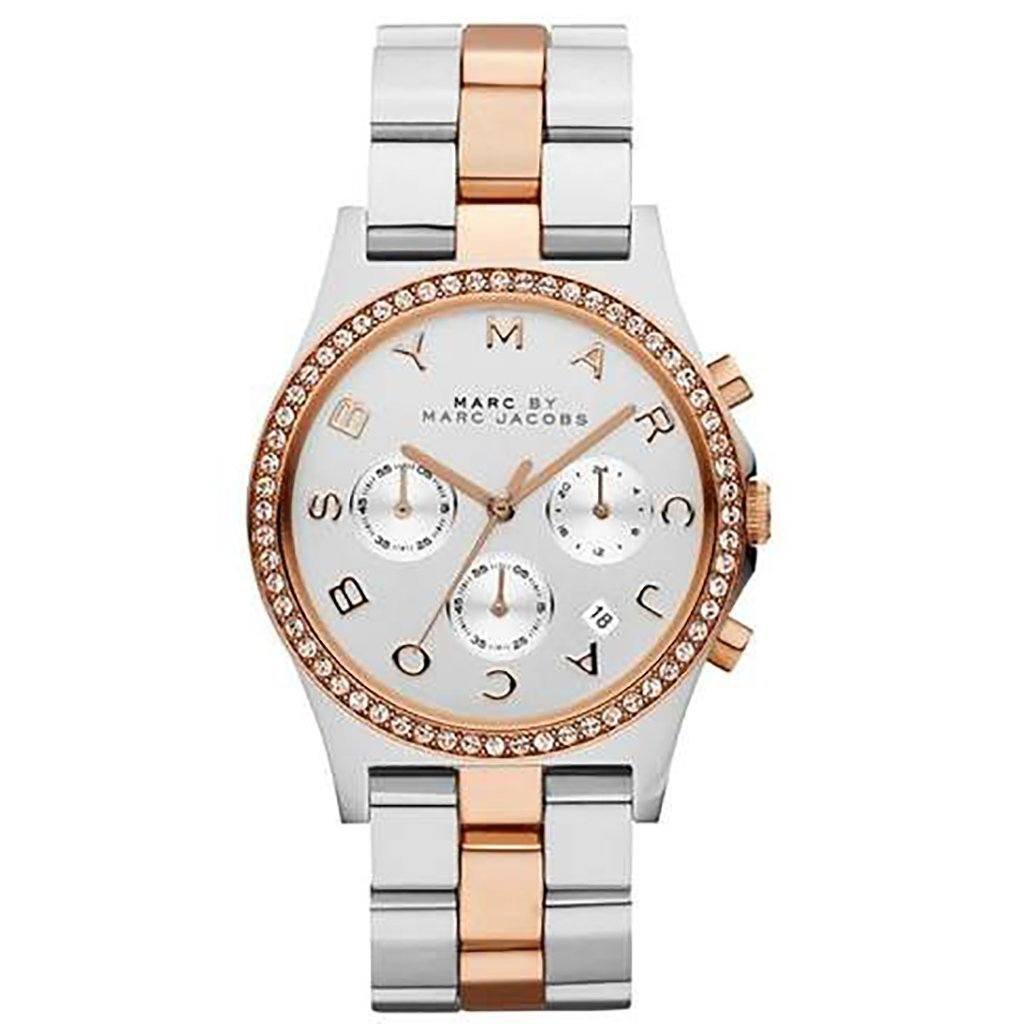 Marc by Marc Jacobs Ladies' Henry Chronograph Watch MBM3106 - JB Watches