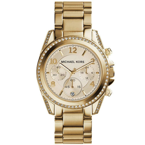 Michael Kors Ladies' Blair Chronograph Watch MK5166 - JB Watches