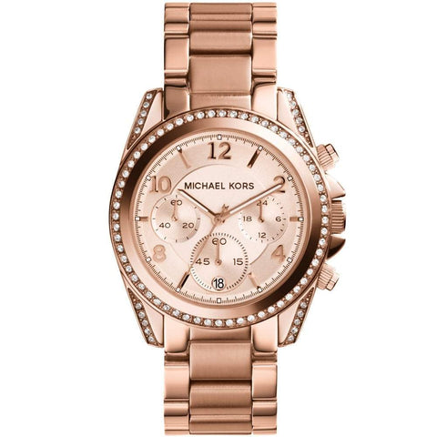 Michael Kors Ladies' Blair Chronograph Watch MK5263 - JB Watches
