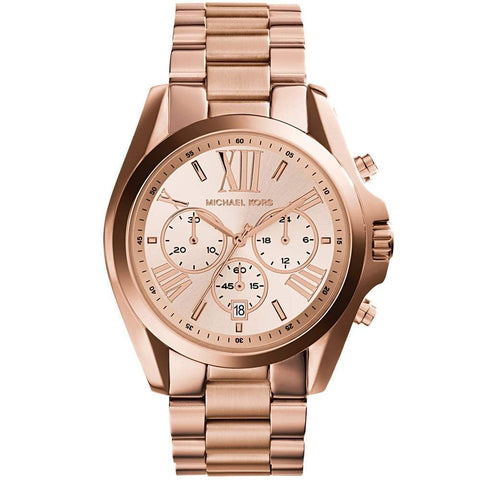 Michael Kors Ladies' Bradshaw Chronograph Watch MK5503 - JB Watches