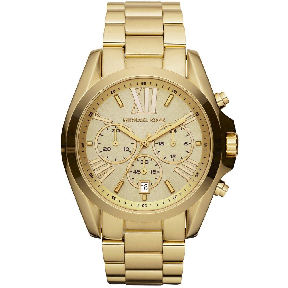 Michael Kors Ladies' Bradshaw Chronograph Watch MK5605 - JB Watches