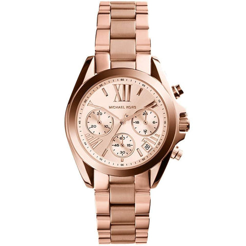 Michael Kors Ladies' Mini Bradshaw Chronograph Watch MK5799 - JB Watches