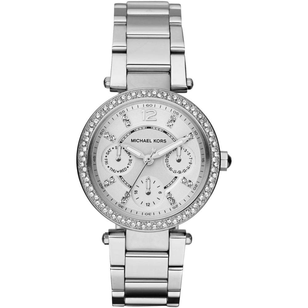 Michael Kors Ladies' Mini Parker Chronograph Watch MK5615 - JB Watches