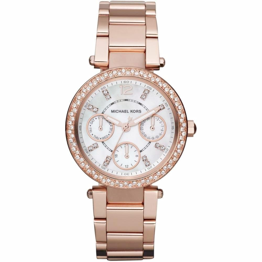 73503f3b43a7 Michael Kors Ladies  Mini Parker Chronograph Watch MK5616 - JB Watches