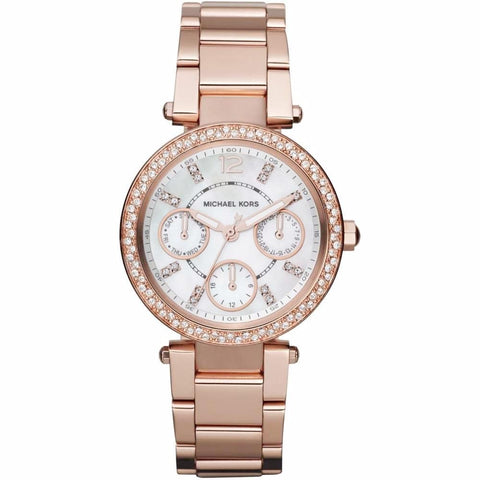 Michael Kors Ladies' Mini Parker Chronograph Watch MK5616 - JB Watches