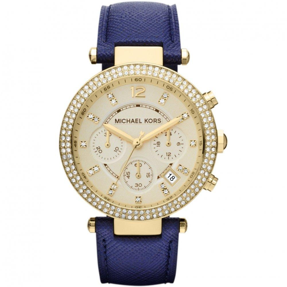 Michael Kors Ladies Parker Chronograph Watch Mk2280 Jb Watches