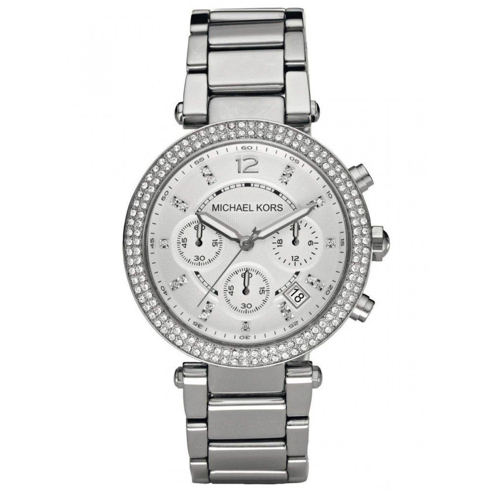 Michael Kors Ladies' Parker Chronograph Watch MK5353 - JB Watches