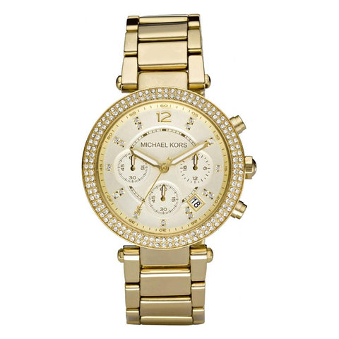 Michael Kors Ladies' Parker Chronograph Watch MK5354 - JB Watches