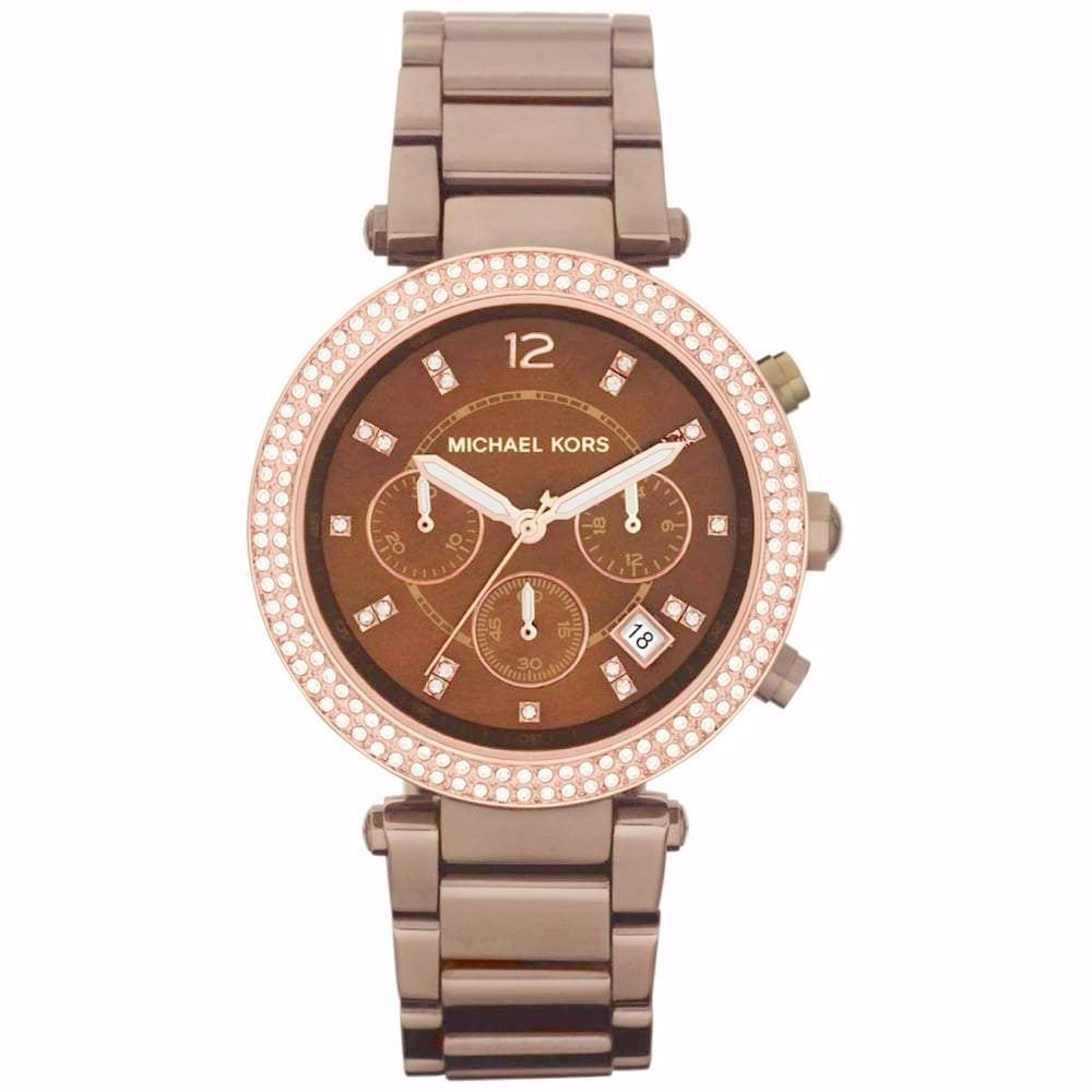 Michael Kors Ladies' Parker Chronograph Watch MK5578 - JB Watches