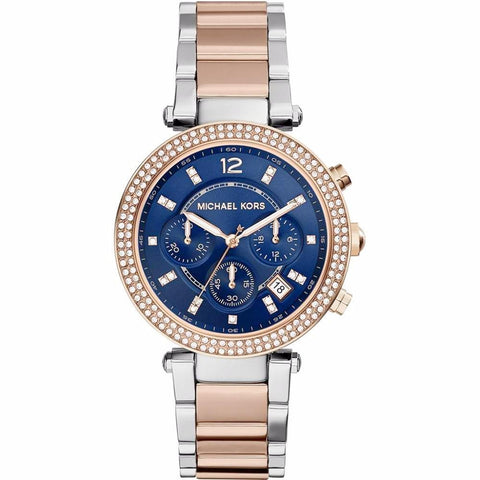 Michael Kors Ladies' Parker Chronograph Watch MK6141 - JB Watches