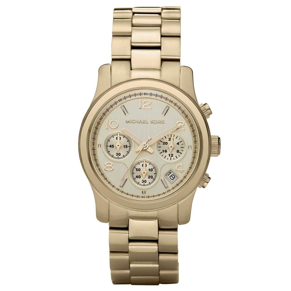 Michael Kors Ladies Runway Chronograph Watch MK5055 - JB Watches