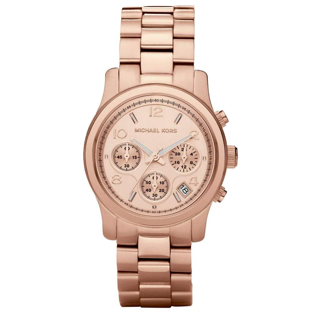 Michael Kors Ladies' Runway Chronograph Watch MK5128 - JB Watches