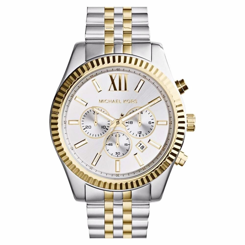 Michael Kors Mens Lexington Chronograph Watch Mk8344 Jb Watches