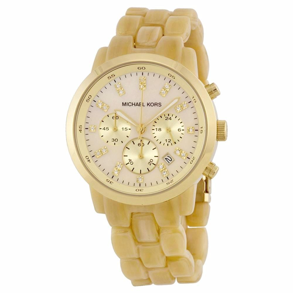 Michael Kors Ladies' Showstopper Chronograph Watch MK5217 - JB Watches