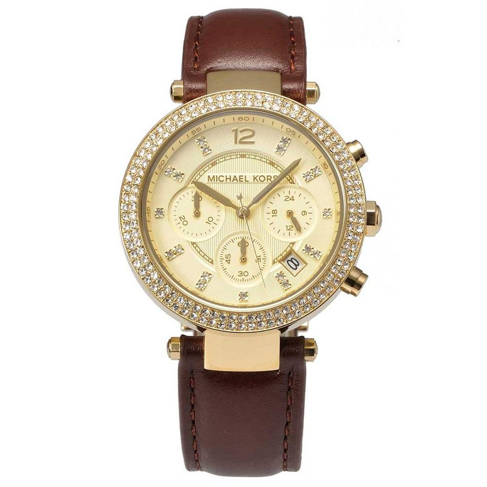 Michael Kors Ladies' Parker Chronograph Watch MK2249 - JB Watches