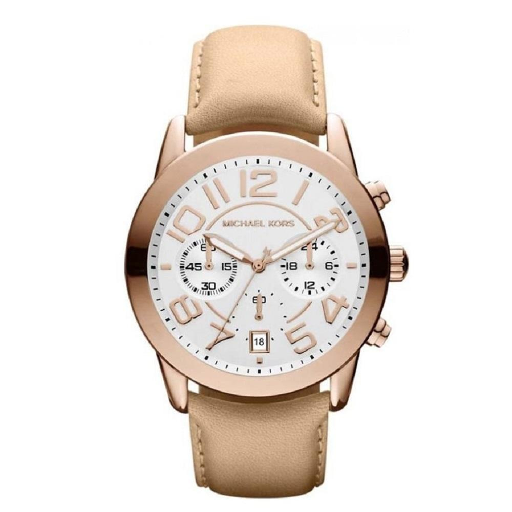 Michael Kors Ladies' Mercer Chronograph Watch MK2283 - JB Watches