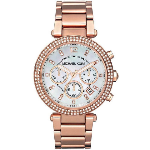 Michael Kors Ladies' Parker Chronograph Watch MK5491 - JB Watches