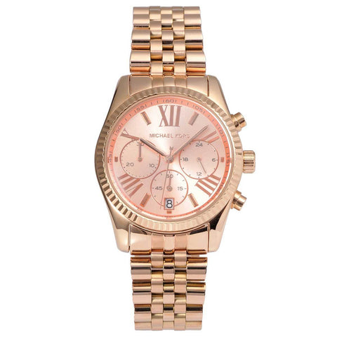 Michael Kors Ladies' Lexington Chronograph Watch MK5569 - JB Watches