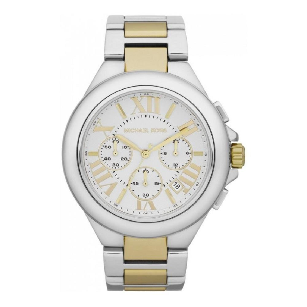 Michael Kors Ladies' Camille Chronograph Watch MK5653 - JB Watches