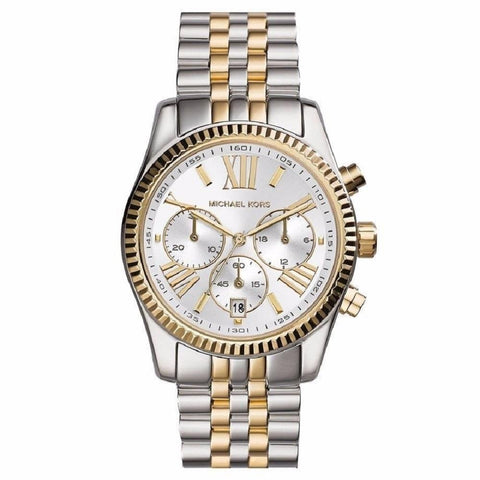Michael Kors Ladies' Lexington Chronograph Watch MK5955 - JB Watches