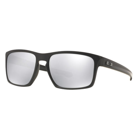 Oakley Unisex Machinist Sliver Matte Black Sunglasses OO9262-26 Chrome Iridium - JB Watches