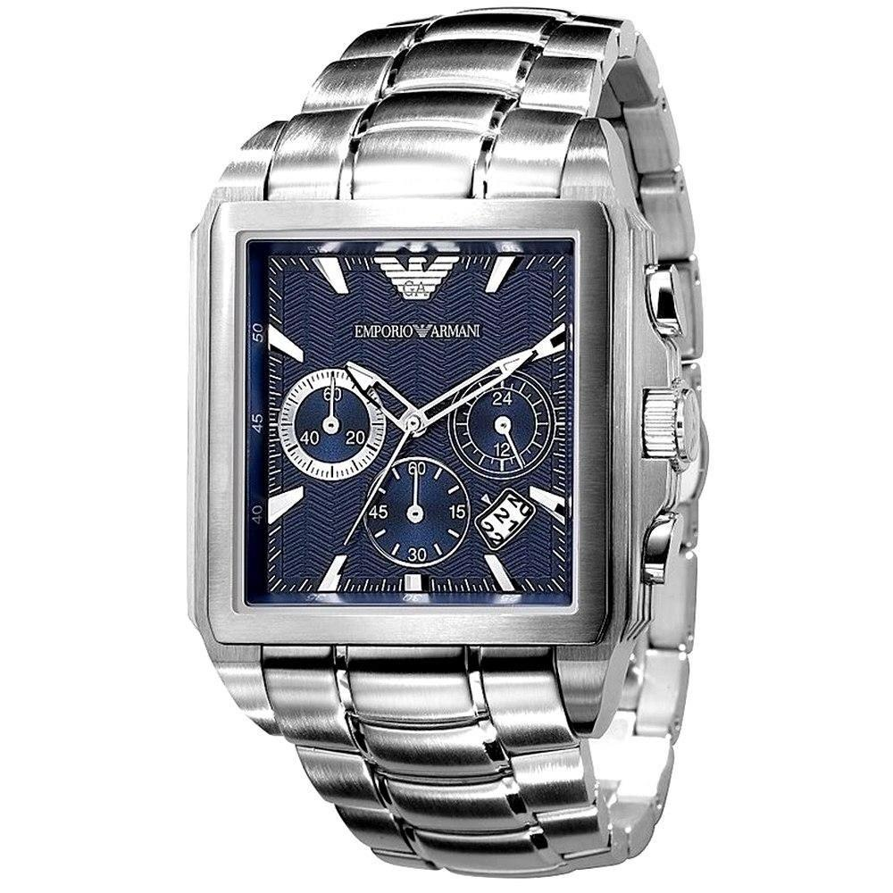 Emporio Armani Men's Chronograph Watch AR0660 - JB Watches