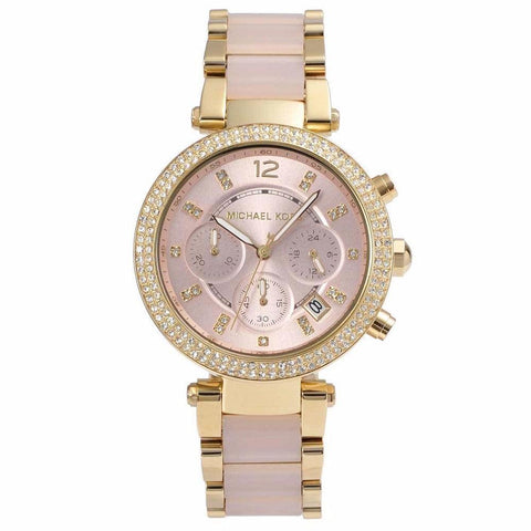 Michael Kors Ladies' Parker Chronograph Watch MK6326 - JB Watches