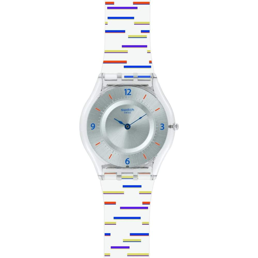 Swatch Unisex Thin Liner Watch SFE108 - JB Watches