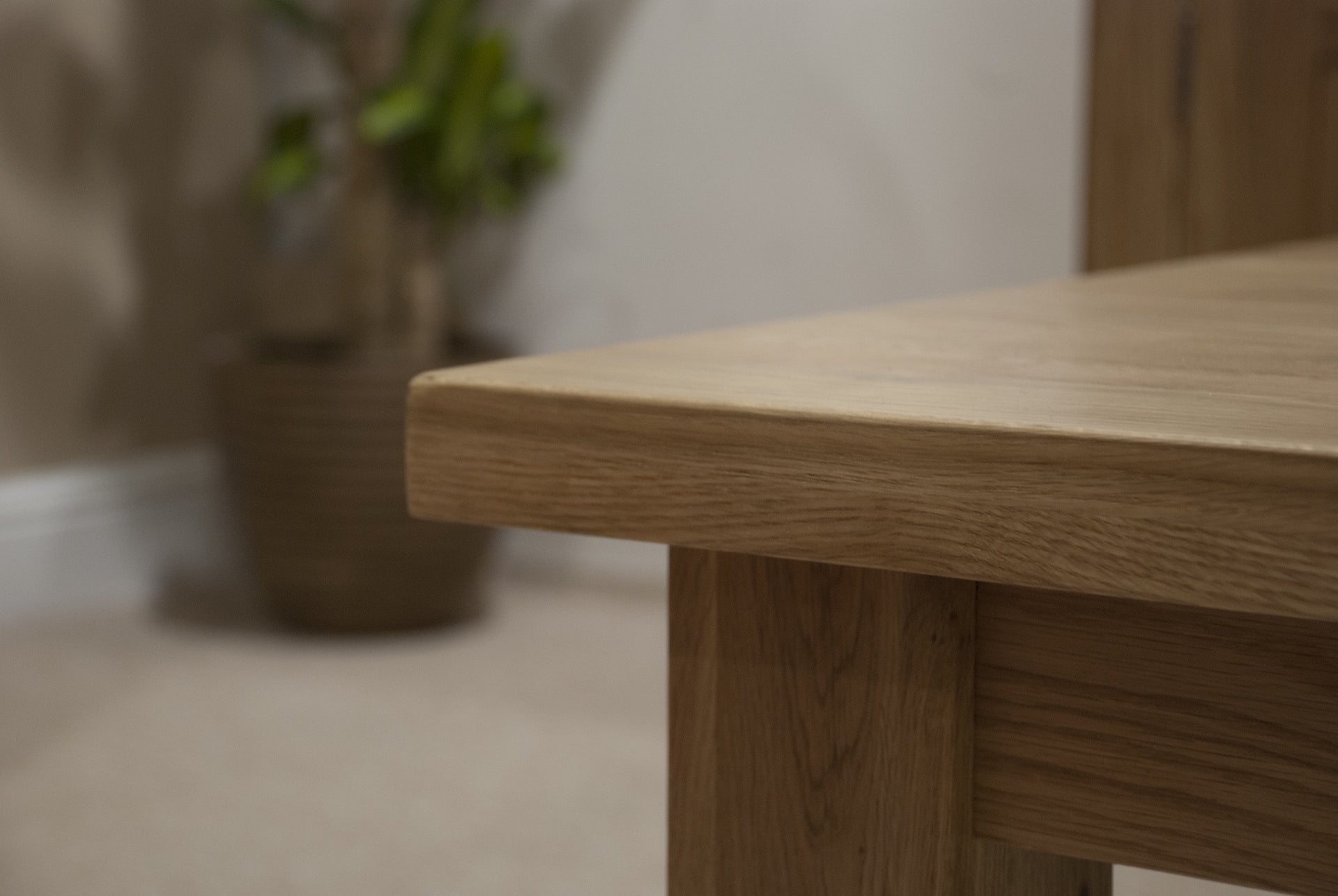 European Solid Oak 'A' Grade Chunky 32mm and 40mm Thickness Table Tops Full Wide Strips/Staves 90mm-110mm