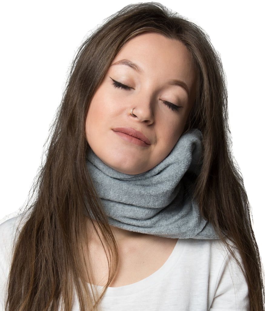 Travel Pillow With Scientifically Proven Neck Support Super Soft