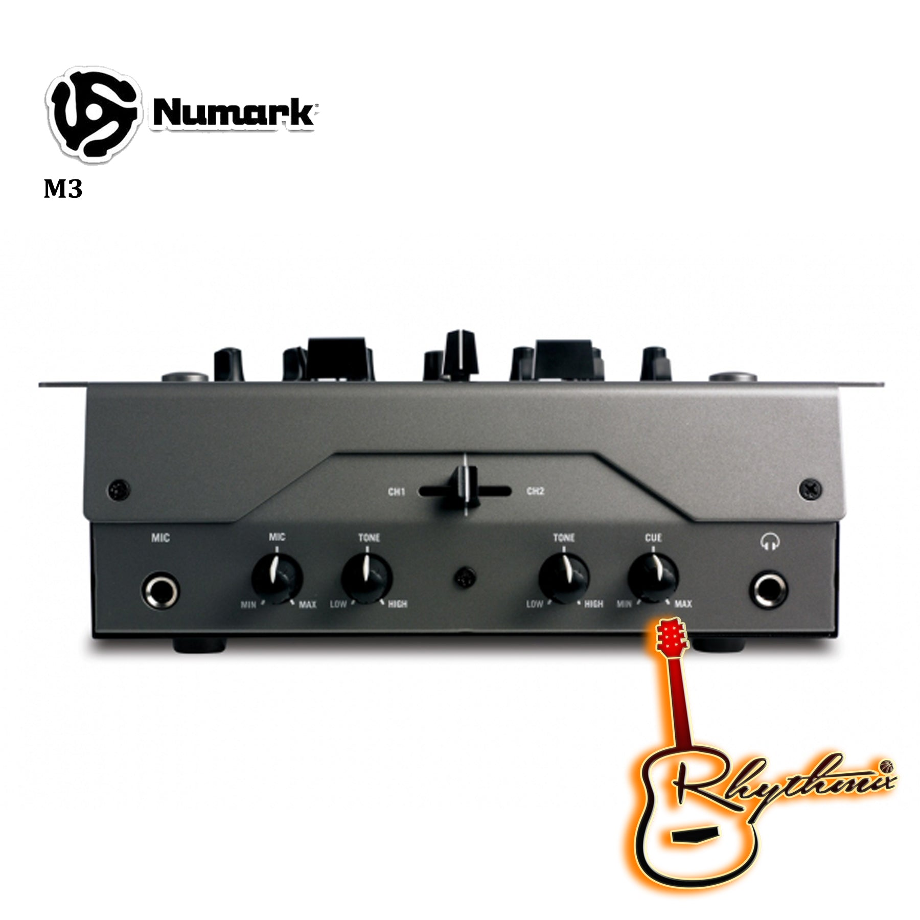 Numark M3 2-channel Tabletop DJ Mixer with Phono/Line RCA