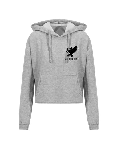 ASL Robotics Cropped Griffin Hoodie