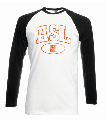 ASL Baseball T Shirt