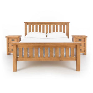 Salisbury Lite - Complete Bedroom Bundle - Solid Oak