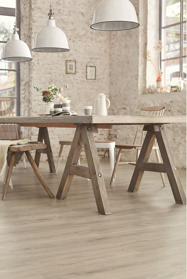 Starfloor 55 Oak Medium Grey vinyyli