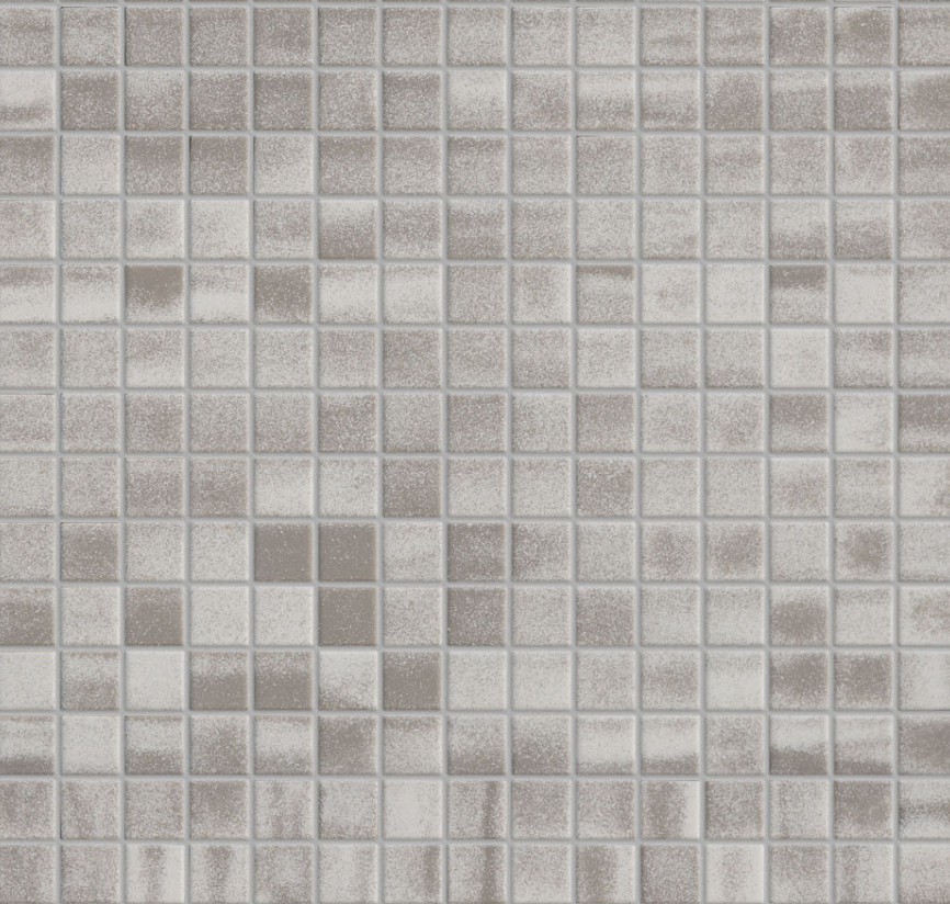 Betonsquare White-Grey Mix mosaiikki