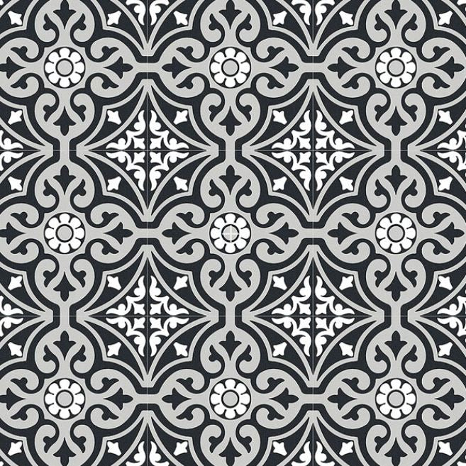 Xclusive Element Dec. Arabesque 20,5x20,cm lattia- ja seinälaatta