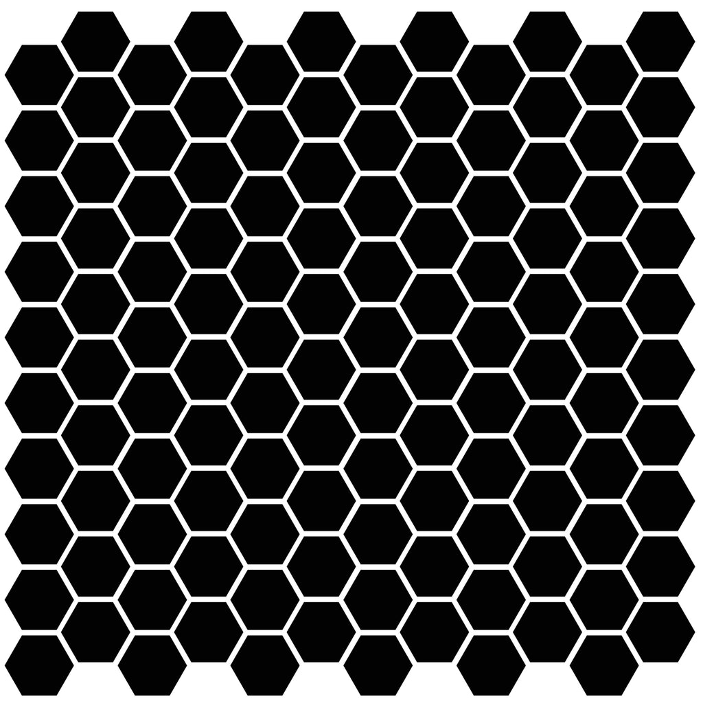 Barcelona Hexagon Black Matt AMH23317 Mosaiikki