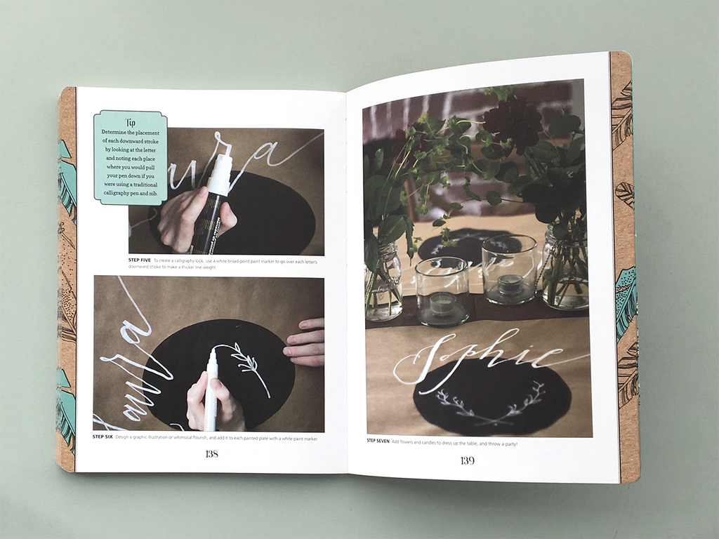 Foto uit het boek 'Creative lettering and Beyond' - Lettering Crafts