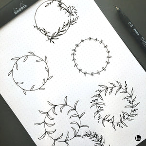 Workshop Botanicals met fineliner • 9 dec 2019 • Buizingen