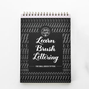 Oefenboek 'Learn Brush Lettering' - Kelly Creates
