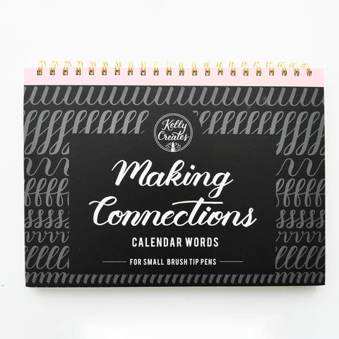 Oefenboek 'Making Connections' - Kalender woorden - Kelly Creates