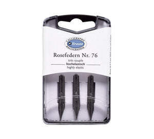 Brause Rose nib (set van 3)