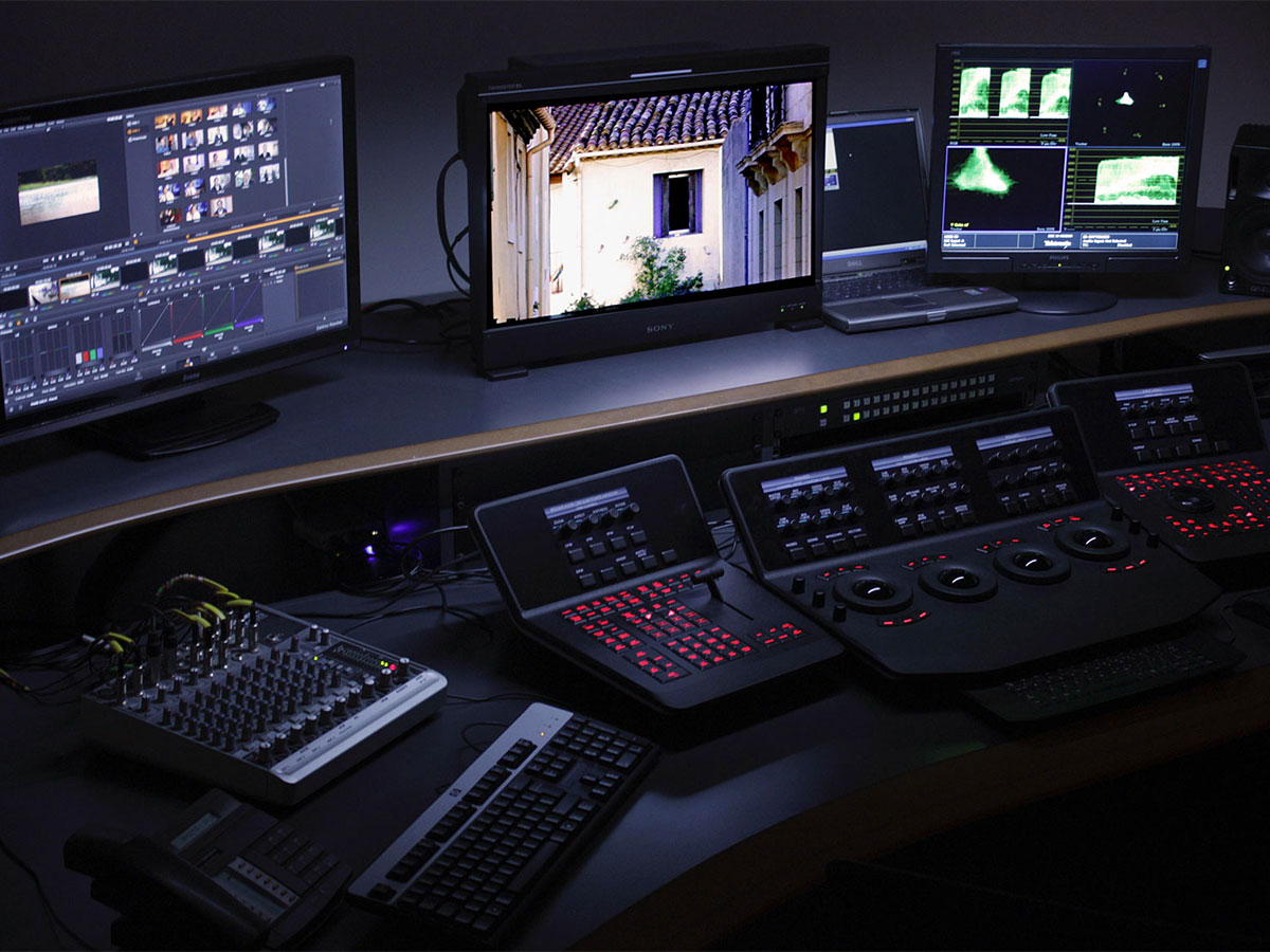Post Production Room